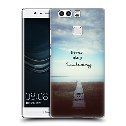 ufficiale-olivia-joy-stclaire-never-stop-exploring-tipografia-cover-retro-rigida-per-huawei-p9-plus