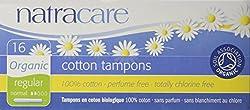 Natracare Organic Applicator Regular Tampons 16 per pack (PACK OF 2)