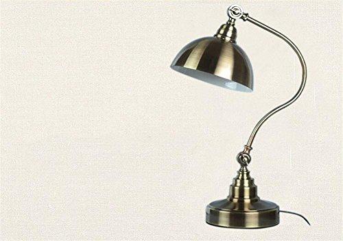Preisvergleich Produktbild GTB Amerikanische Bronze Lesen langer Arm Falten Studie Augenlampe Schlafzimmer , diameter 380mm high 480mm