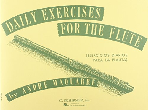 Andre Maquarre Daily Exercises For The Flute Flt Pdf Kindle