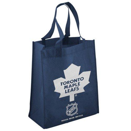 Forever Collectibles NHL Toronto Maple Leafs Bedruckt Vlies Polypropylen wiederverwendbar Lebensmittels Tasche, Blau -