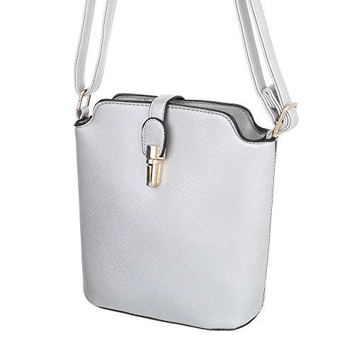 Taschen Umhängetasche Modell Nr.1 Hellgrau