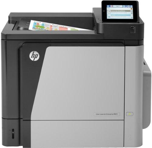 42 X Laserjet (HP Color LaserJet Enterprise M651n Farblaserdrucker (USB 2.0, 1.200x1.200 dpi, Duplex) (ML) grau/schwarz)