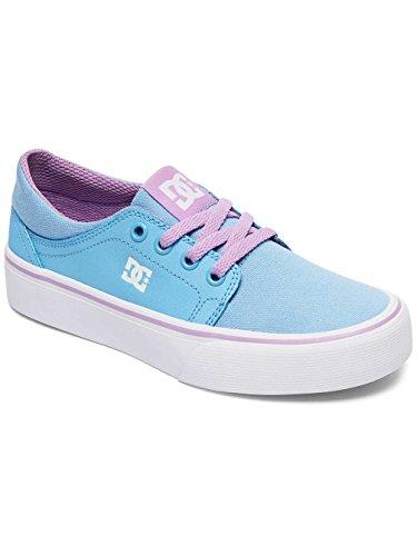 DC Shoes Trase SE - Chaussures pour Fille ADGS300065 Bleu - Blue/White