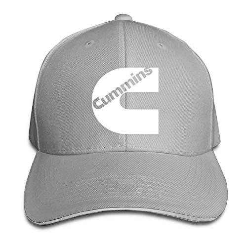 einstellbare Unisex Männer Frauen Cummins Baseball Cap Snap Cap Snap - Back Flache Krempe Cap Golf Hüte Hip Hop Snapback Hut -