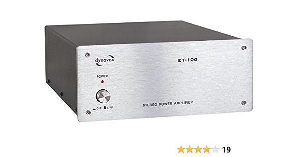 Dynavox Et 100 Stereo Endstufe Silber Audio Hifi