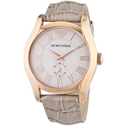 Emporio Armani Men's Watch Analogue XL Leather AR1667 Quartz