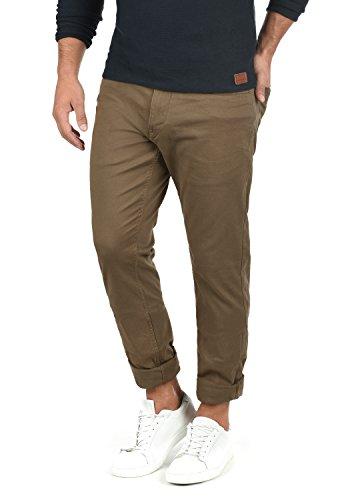 Blend Saturn Herren Chino Hose Stoffhose Aus Stretch-Material Slim Fit, Größe:W31/32, Farbe:Mocca Brown (71508) -