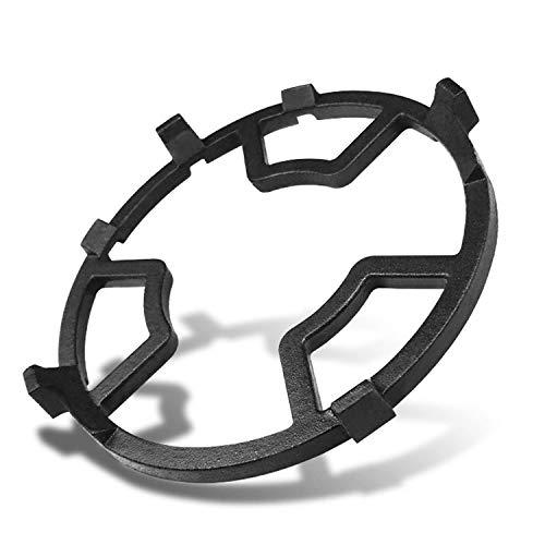 LENRUS Gusseisen WOK Ring Support Aufsatzring für Gaskochfelder, Küche, Camping