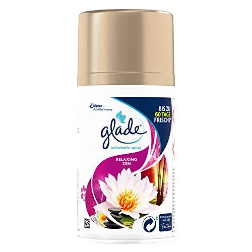 Glade By Brise Original Nachfüller für Automatisches Duftspray, Für sofortige Frische in allen Räumen, Entspannender Relaxing Zen-Duft, 2er Pack (2 x 269 ml)