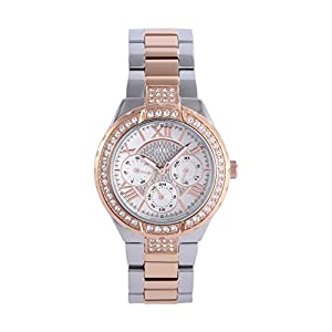 Guess W0111L4 – Reloj de Pulsera para Mujer, Color Blanco/Plata