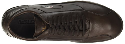 Walsh Midsyle Wrapper Sole, Sneakers Hautes Homme Marron (Dk Brown Leather)