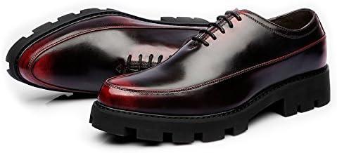 Fang-shoes, 2018 Zapatos Hombre, Zapatos Casuales de los Hombres Mate Cuero de la PU Babero Prom Encaje con Cordones...