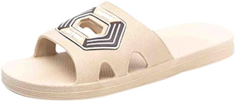 CTOOO 2018 Verano Nuevo Zapatos De Playa para Hombres, Zapatillas De Casa Antideslizantes