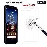 AhaSky [2 Stück] Schutzfolie für Google Pixel 3A Panzerglas, HD Displayschutzfolie, 9H Härte Schutzfolie, [Anti-Kratzer/Bläschen/Fingerabdruck/Staub] Panzerglasfolie für Pixel 3A