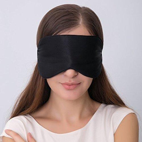 Antifaz Para Dormir,Mospro, Máscara Del Sueño De Seda Pura,Anti-luz Ultra Suave Ligero Y Cómodo Para Viajar ,Trabajo, Dormir Y Meditación