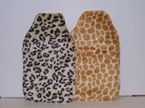 Animal Print Hot Water Bottle - One Supplied by A.Mistry Ltd
