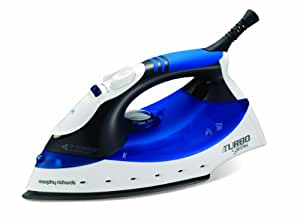 Morphy Richards Turbosteam Iron with Diamond Soleplate - Blue