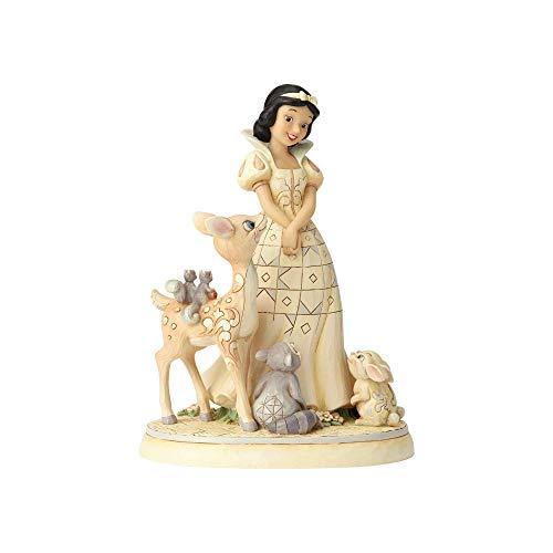 Disney Figurine Blanche Neige 6000943, Résine, Beige, 20,5 cm