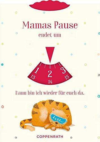 Parkscheibe - Familie im Glück: Mamas Pause / Papas Pause