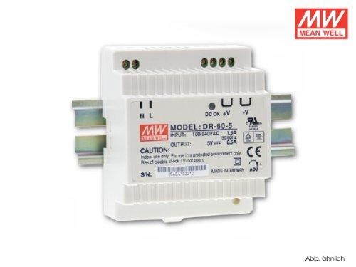Preisvergleich Produktbild DR-60-12 Hutschienen Netzteil 12V/54W/TÜV