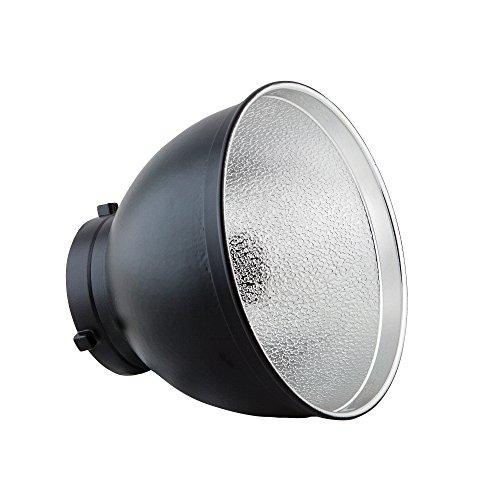 PhotoSEL FRS558 - Reflector estándar de iluminación fotográfica (ángulo de 55º, diámetro...