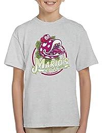 Super Mario Little Plant Of Horrors Kid's T-Shirt