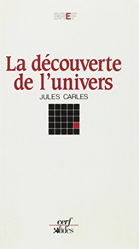 DECOUVERTE DE L'UNIVERS