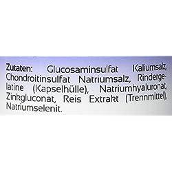 BIOMENTA GELENKKOMPLEX FORTE | mit einmaliger GLUCOSAMIN + CHONDROITIN + HYALURONSÄURE Kombination | 60 Gelenkkapseln hochdosiert