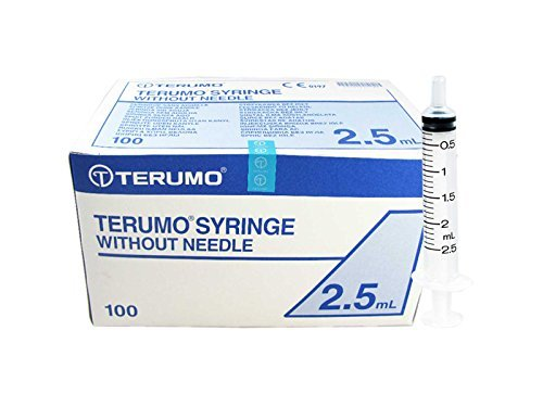 Terumo Seringue de 2.5 ml – 100 pcs