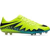 Nike Hypervenom Phinish FG football boots (Volt/Black)