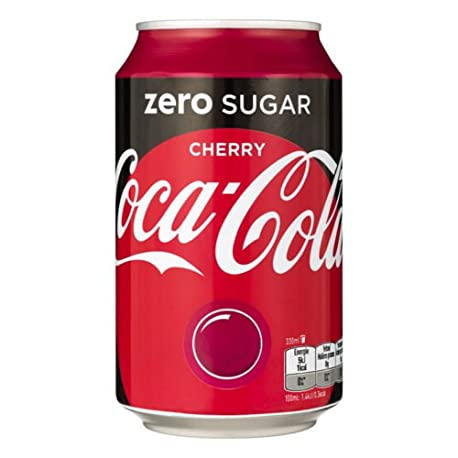 72 x Coca Cola Zero Cherry cans dosen canettes latas lattine 0 33 L