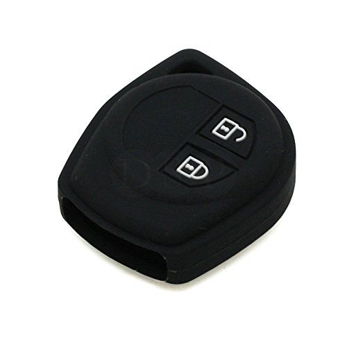 fassport-silicone-cover-skin-jacket-fit-for-suzuki-2-button-remote-key-cv4541-black