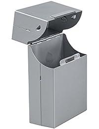 Boîte Etui à Cigarette Cigare pour 20 Cigarettes en Aluminium 9.2cm*6.0cm*2.8cm argent