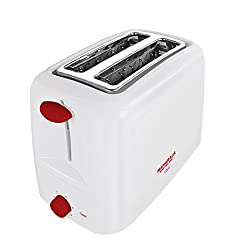 Maharaja White Line Viva 750-Watt Pop-up Toaster (Red and White)