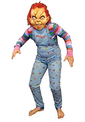 Child's Play 2- Good Guy Costume - Adult (Chucky Childs Play Kostüm)