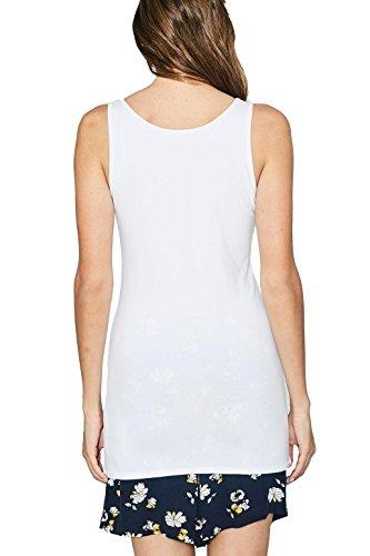 edc by Esprit, Vestaglia Donna Bianco (White 100)
