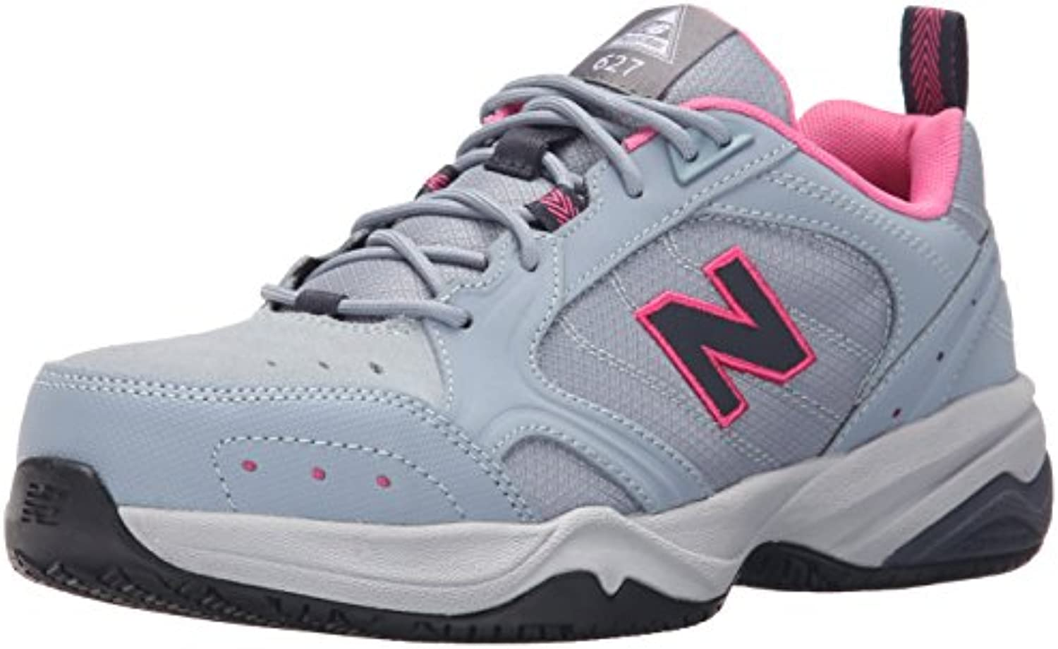 New Balance Wouomo WID627V1 Steel Toe Training Work scarpe,Light scarpe,Light scarpe,Light grigio rosa,10 2E US | Meno Costosi Di