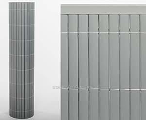rev tement de balcon contre le sylt2 90 x 300 cm en aluminium pour brise vue balcon et. Black Bedroom Furniture Sets. Home Design Ideas