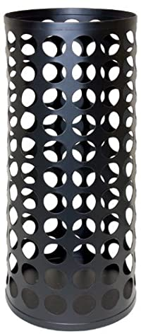 Jokari Wine Cork Vase/Pillar Candle Holder, 5 by 12-Inch, Matte Black