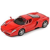 SXET-Coche modelo Modelo de fundición a presión Modelo Coche Ferrari-Enzo Modelo de