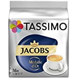 Tassimo Jacobs Medaille D'Or (16 Portions) (Pack de 2)