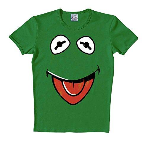 Logoshirt T-shirt  Logo Col rond Mixte adulte grün - Green - bottle green