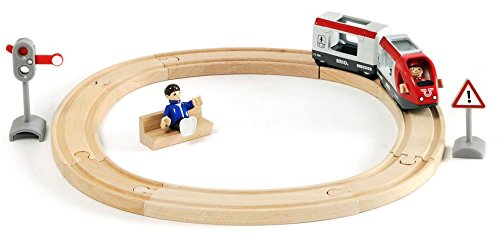 Imagen principal de Brio - Set circuito circular de tren de pasajeros (33511)