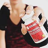 Mineralien Vitamine vegan | Bio-Qualität | Mineralstoffe Eisen, Vitamin C, Zink, Magnesium für mehr Energie & schnellere Regeneration | Wirkt Müdigkeit entgegen | Stärkt das Immunsystem | 60 Kapseln - 5