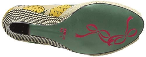 Poetic Licence by Irregular Choice Charmed Life, Sandales Compensées  femme Multicolour (Natural Multi)