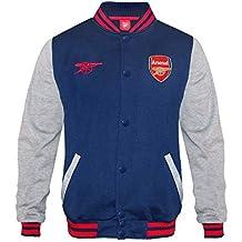 384719f906549 Arsenal FC - Chaqueta deportiva oficial para niño - Estilo béisbol  americano ...