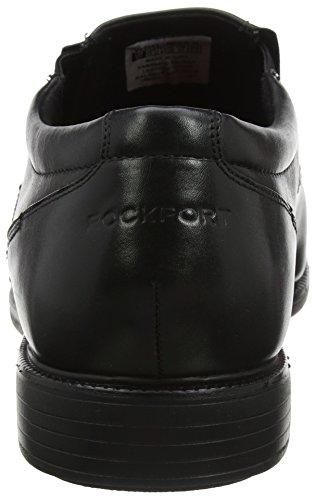 Rockport Herren Charlesroad Slip On Black Slipper Schwarz (Black)