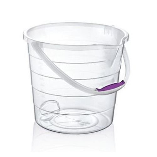 small-10l-litre-clear-transparent-plastic-bucket-with-carry-handle-storage-container-tub