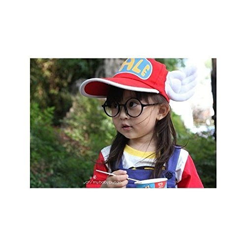 Cosplay accessory Arale wind hat + glasses cap No. 1 color hat Halloween hat Awning adult version cosplay tool (japan import) (Kostüm Cosplay Arale)